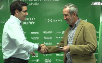 El Club Deportivo Toledo y la Federación Marsodeto, juntos.