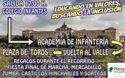 DONATIVOS Y APORTACIONES 34 MARCHA DE SOLIDARIDAD CON LAS PERSONAS CON DISCAPACIDAD DE TOLEDO