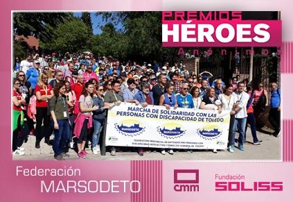 PREMIOS HÉROES ANÓNIMOS  Castilla-La Mancha Media y Fundación Soliss