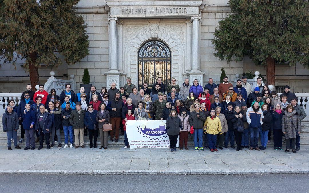CONOCEMOS A NUESTRO PADRINO III: Visita a la Academia de Infantería