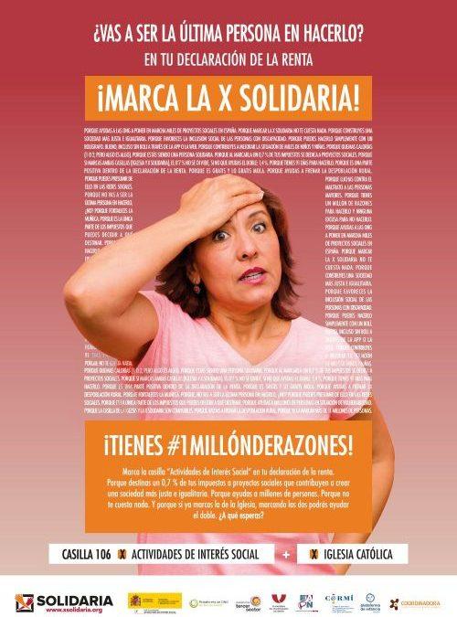 X SOLIDARIA DECLARACIÓN DE LA RENTA